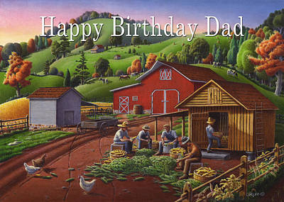 no16 Happy Birthday Dad Original