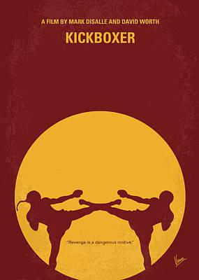 Jeans Digital Art - No178 My Kickboxer Minimal Movie Poster by Chungkong Art