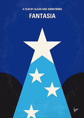 Disney Digital Art - No242 My Fantasia Minimal Movie Poster by Chungkong Art
