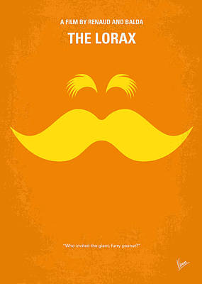 Kids Wall Art Digital Art - No261 My The Lorax Minimal Movie Poster by Chungkong Art