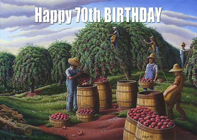 no8 Happy 70th Birthday Original
