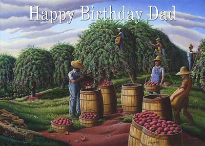 no8 Happy Birthday Dad  Original