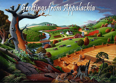 no9 Greetings from Appalachia Original
