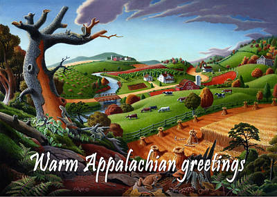 no9 Warm Appalachian greetings Original