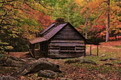 Photograph - Noah Ogle Place In The Smoky Mountains by Dan Sproul