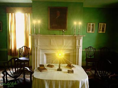 Noah Webster's Home Original by Michael Rucker