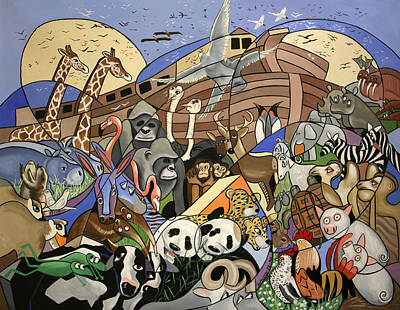 Noahs Ark Art Print by Anthony Falbo
