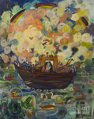 Noah's Ark Original by Avonelle Kelsey