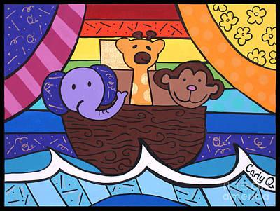 Noahs Ark Original by Carly Khabinsky