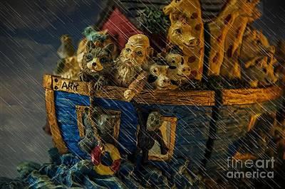 Noah's Ark Art Print by Donald Davis