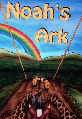 Painting - Noah's Ark by Jason Girard