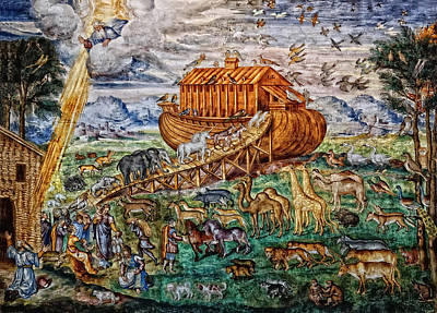 Photograph - Noah's Ark by Nigel Fletcher-Jones
