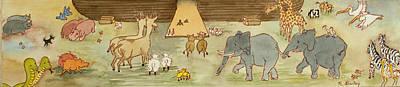 Noah's Ark Art Print by Ruth Bailey