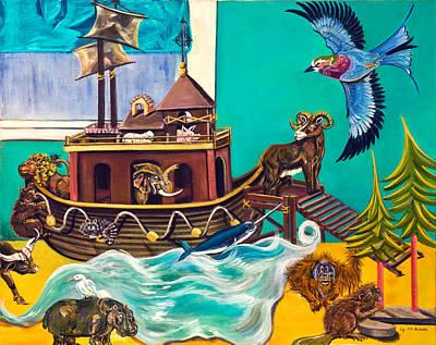 Noah's Ark Second Voyage Art Print