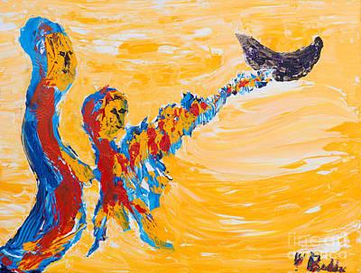 Painting - Noah's Ark by Walt Brodis