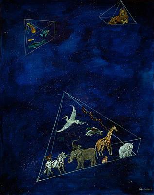 Painting - Noah's Last Voyage by Susan Culver