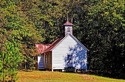 Photograph - Noahs Original Baptist Church by Marilyn Holkham