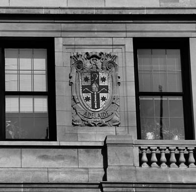 Family Crest Photograph - Noble Crest by Dan Sproul