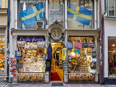 Photograph - Noble Souvenirs. Stockholm 2014 by Jouko Lehto