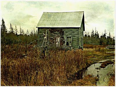 Photograph - Nobody's Home  by Dianne  Lacourciere