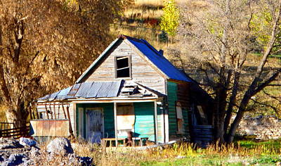 Art Print featuring the photograph Nobody's Home by Jackie Carpenter