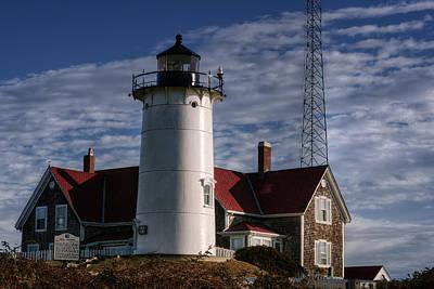 Cape Cod Photograph - Nobska Light by Joan Carroll