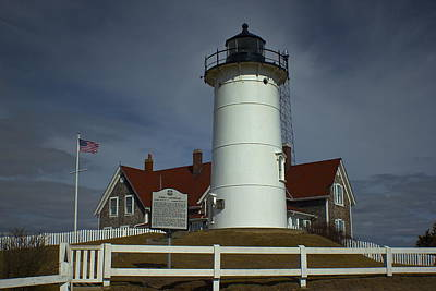 Photograph - Nobska Point Lighthouse 2 by Amazing Jules
