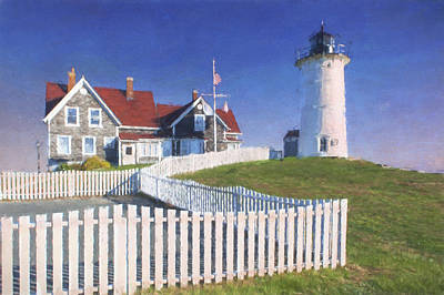 Nobska Point Lighthouse Art Print