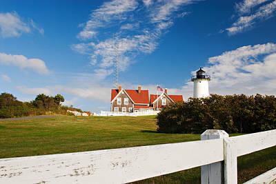 Photograph - Nobska Point Lighthouse by Renee Hong
