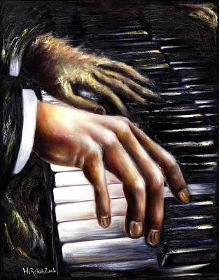 Piano Painting - Nocturne by Hiroko Sakai