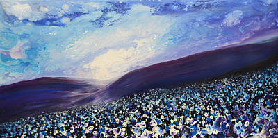 Moonlight Sonata Painting - Nocturne by Mike Paget