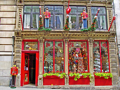 Old Montreal Digital Art - Noel Eternal In Old Montreal-quebec by Ruth Hager