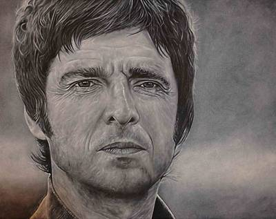 Painting - Noel Gallagher by David Dunne