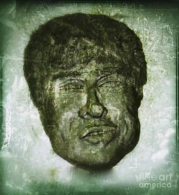 Sculpture - Noel In Greenware by Joan-Violet Stretch