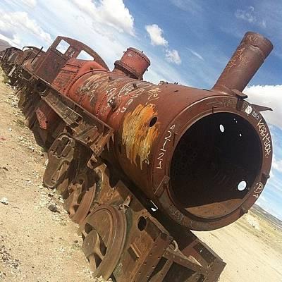 Rust Wall Art - Photograph - Rust Train by Darren O' Dea