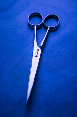 Polished Steel Photograph - Nogent Scissors by Yo Pedro