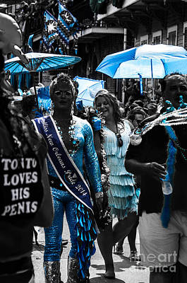 Jewish Pride Photograph - Nola A40w Southern Decadence 2014 by Otri Park