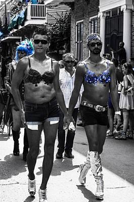Jewish Pride Photograph - Nola B40h Southern Decadence 2014 by Otri Park