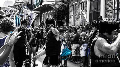 Jewish Pride Photograph - Nola B40m Southern Decadence 2014 by Otri Park