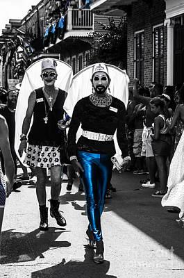 Jewish Pride Photograph - Nola B40s Southern Decadence 2014 by Otri Park