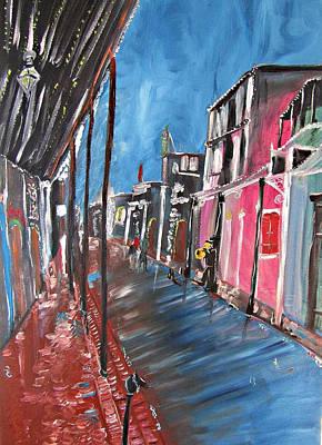 Painting - Nola Blur by Kerin Beard