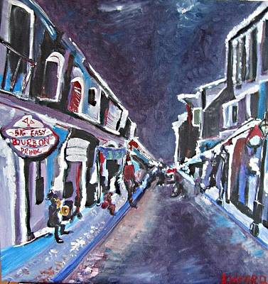 Wall Art - Painting - Nola Blur Series 2 by Kerin Beard