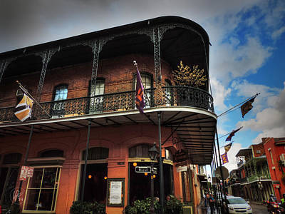 Louisiana State University Photograph - Nola - French Quarter 005 by Lance Vaughn