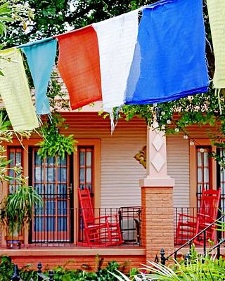 Photograph - Nola House Marigny District by Lizi Beard-Ward
