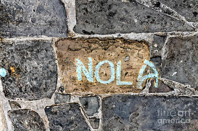 Photograph - Nola - New Orleans Street Art by Kathleen K Parker