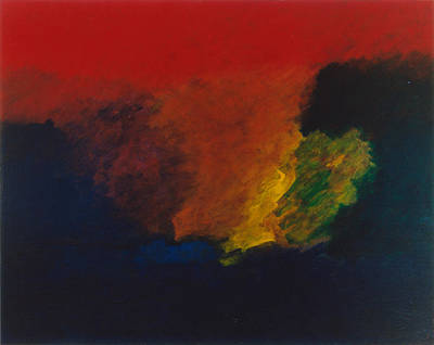 Painting - Nolde Homage 1985 by Karl Leonhardtsberger