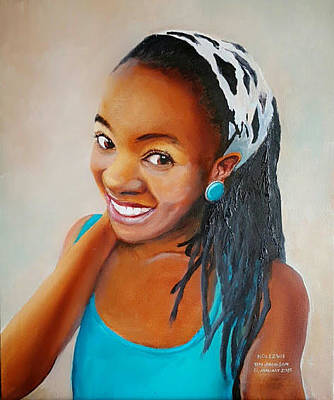 Painting - Nolizwi by Tim Johnson