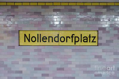 Nollendorfplatz Print by Jannis Werner