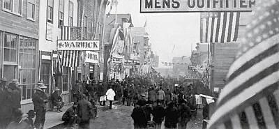Nome Alaska Main St Gold Rush 1900 Art Print