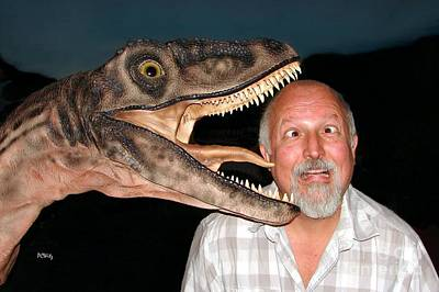 Photograph - Dinosaur Kisses by Patrick Witz
